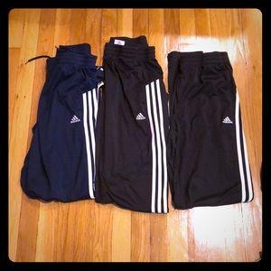 Adidas jogging pants black and navy